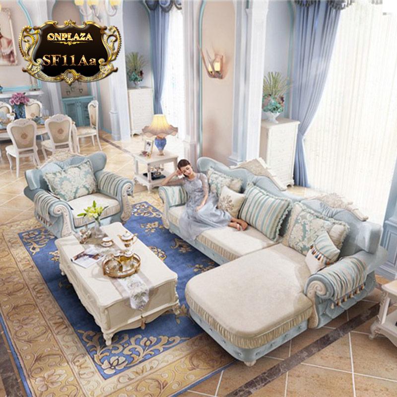 Bộ bàn ghế sofa phòng khách đẹp SF11Aa