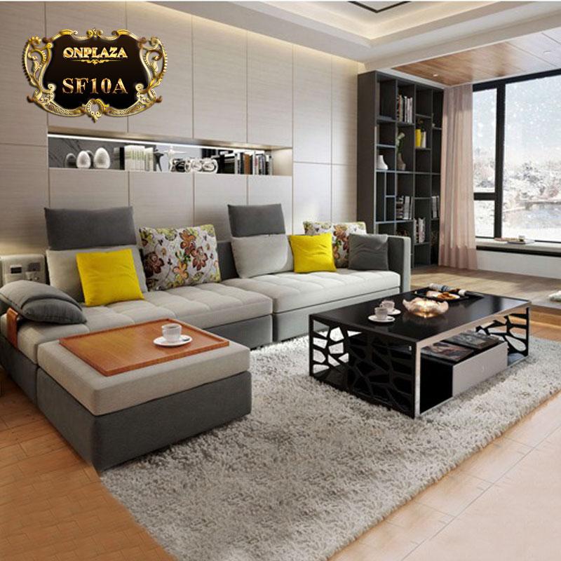 Bộ bàn ghế nhập khẩu đẹp phong cách hiện đại châu âu SF10A