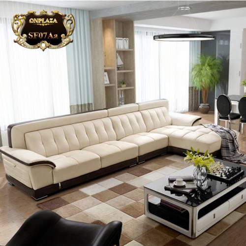 Sofa đa năng hiện đại 3 băng góc phải cao cấp SF07