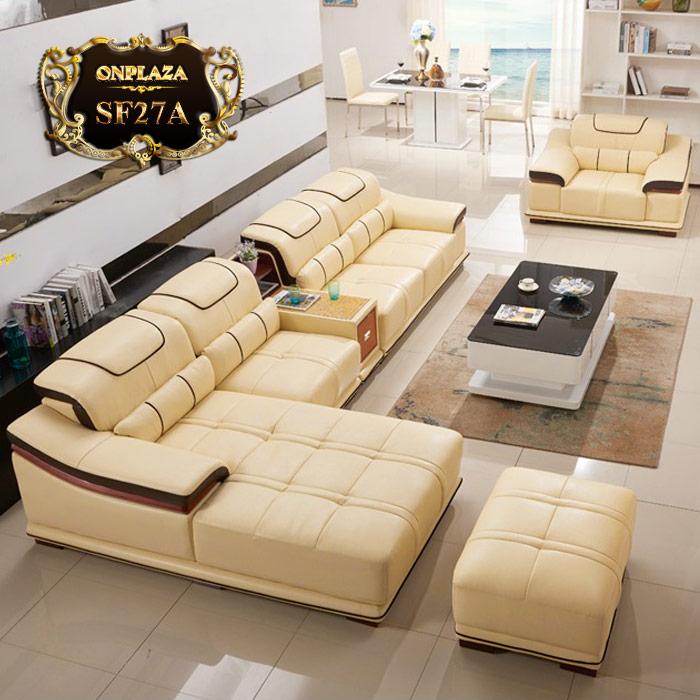 Mẫu sofa đẹp hiện đại cho phòng khách