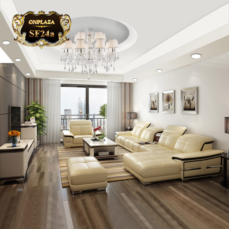 Bộ sản phẩm bàn ghế sofa phòng khách hiện đại đa năng SF24a