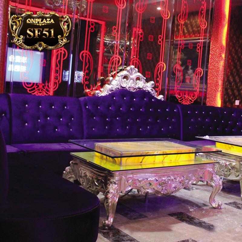 Bộ ghế sofa tân cổ điển cho phòng karaoke SF51