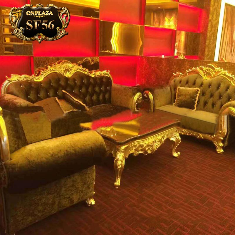 Bộ ghế sofa tân cổ điển cho phòng hát, hội nghị SF56