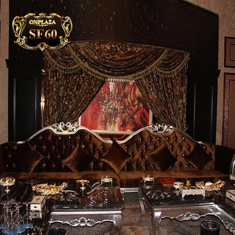 Bộ ghế sofa cổ điển châu âu cho phòng hát, hội nghị SF60