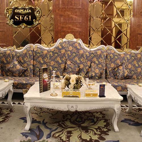 Bộ ghế sofa tân cổ điển phòng hát karaoke, hội nghị SF61