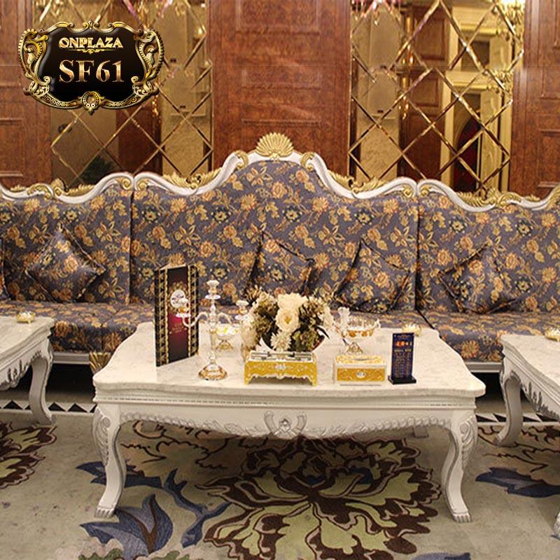Bộ bàn ghế sofa hội nghị, bộ bàn ghế sofa phòng hát tân cổ điển