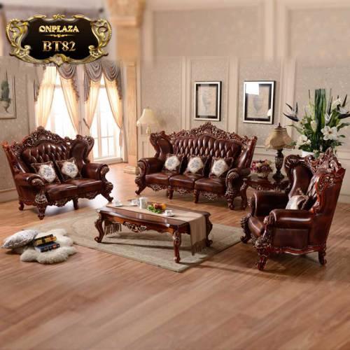 Bộ ghế sofa tân cổ điển phong cách quý tộc BT82