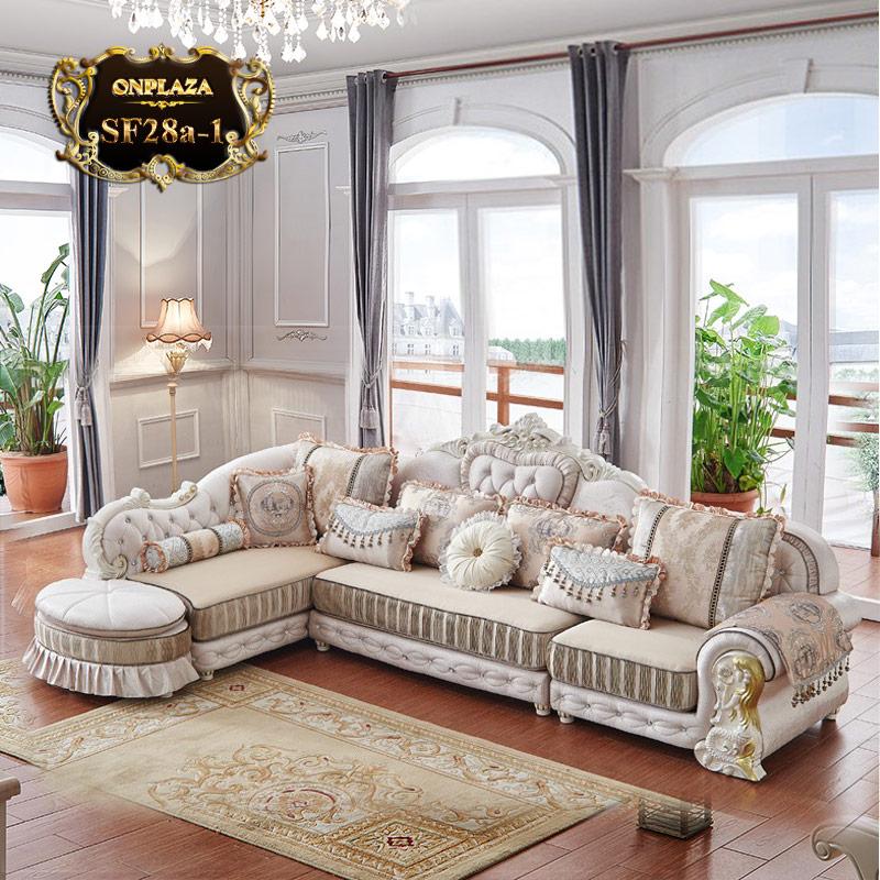 Bộ ghế sofa tân cổ điển châu âu SF28 sang trọng