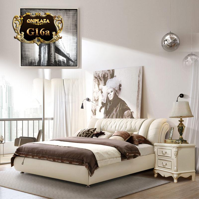 Giường ngủ hiện đại phong cách Châu Âu sang trọng G16