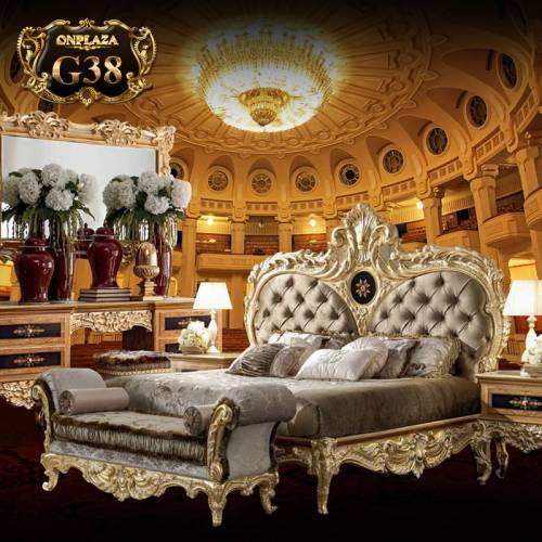 Bộ Giường ngủ tân cổ điển sang trọng G38