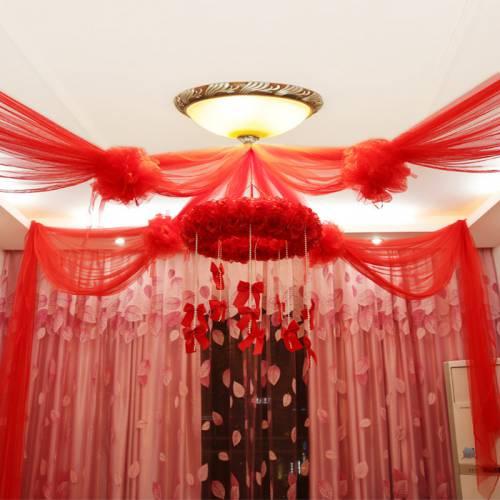 Bộ màn khung trang trí phòng ngủ cao cấp MK019
