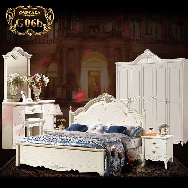 Bộ giường ngủ tân cổ điển G06, giá: 73,420,000 VND