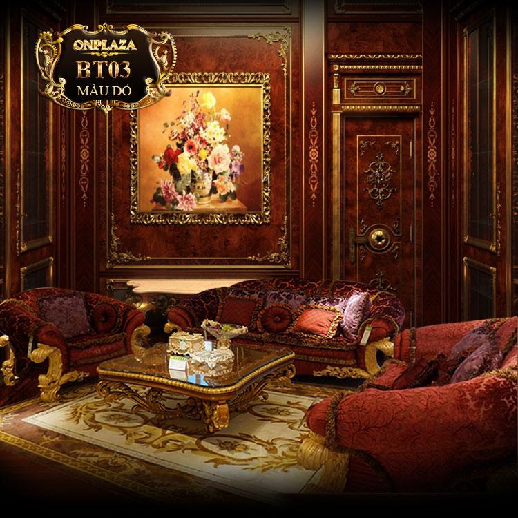 Bộ bàn ghế sofa cổ điển châu âu đẳng cấp thời thượng