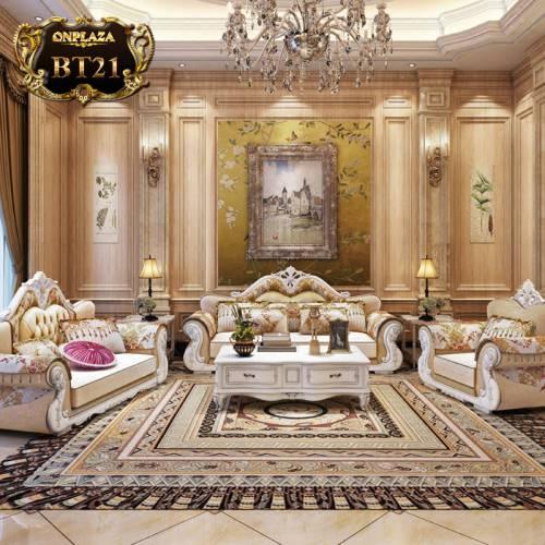 Bộ sưu tập bàn ghế tân cổ điển cao cấp BT21