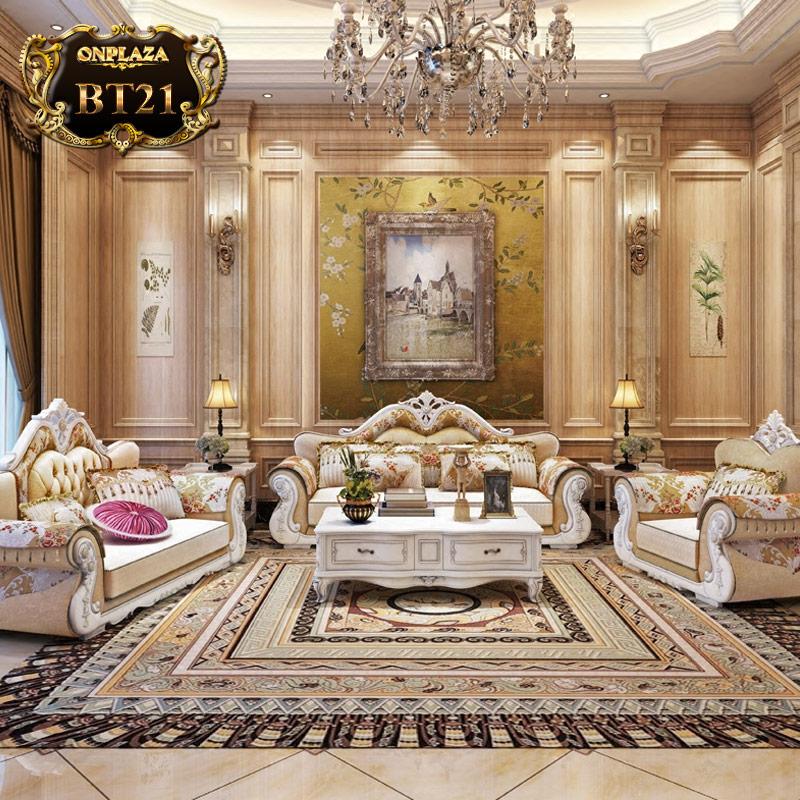 Bộ sưu tập bàn ghế tân cổ điển cao cấp hoàng gia BT21