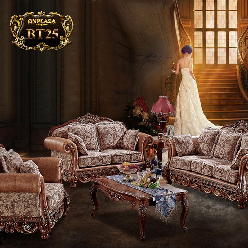 Bộ sưu tập bàn ghế cổ điển cao cấp sang trọng BT25