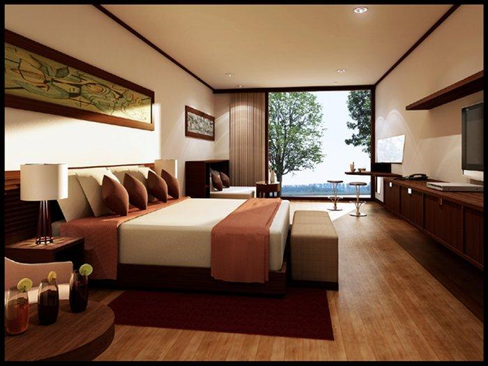 Bố trí phòng ngủ đẹp hợp phong thủy