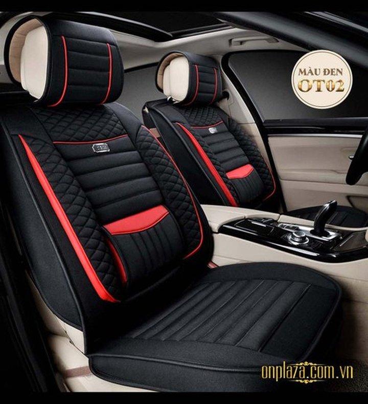 Bọc ghế da nhập khẩu cho ô tô sang trọng