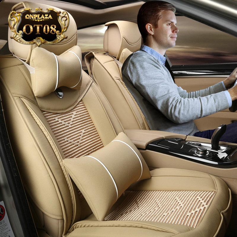 Bọc ghế giả da nhập khẩu cao cấp cho ô tô OT08