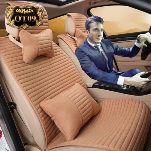 Bọc ghế giả da nhập khẩu cao cấp cho ô tô OT09