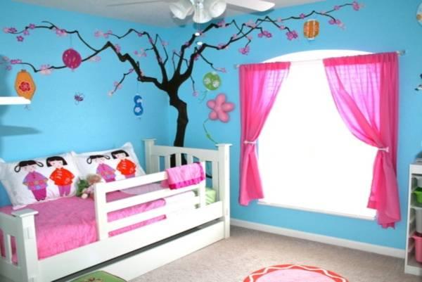 Thiết kế phòng ngủ đẹp cho con gái độc đáo