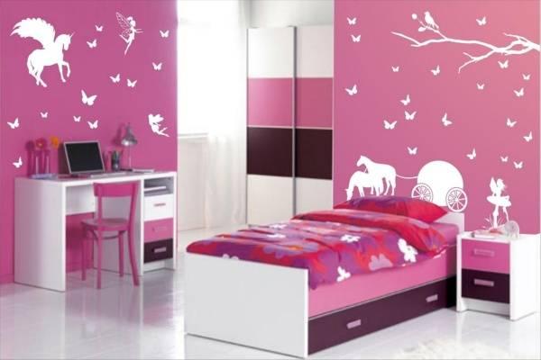 Thiết kế phòng ngủ cho bé gái đẹp và độc đáo