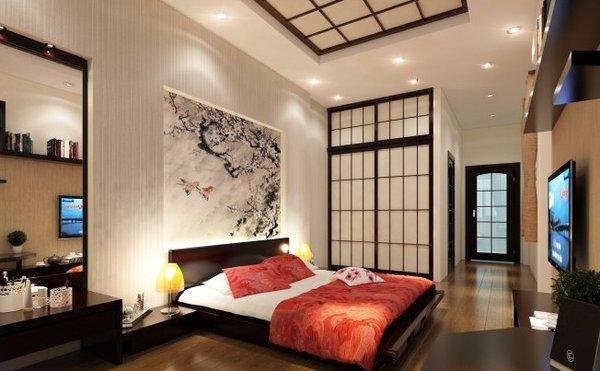Cách trang trí phòng ngủ không giường độc đáo kiểu Nhật Bản