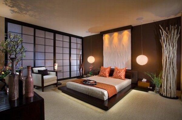 Cửa lùa trong phòng ngủ của người Nhật