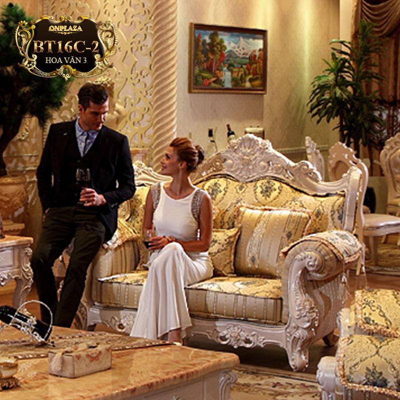Chọn ghế sofa cổ điển cho phòng khách thêm sang trọng