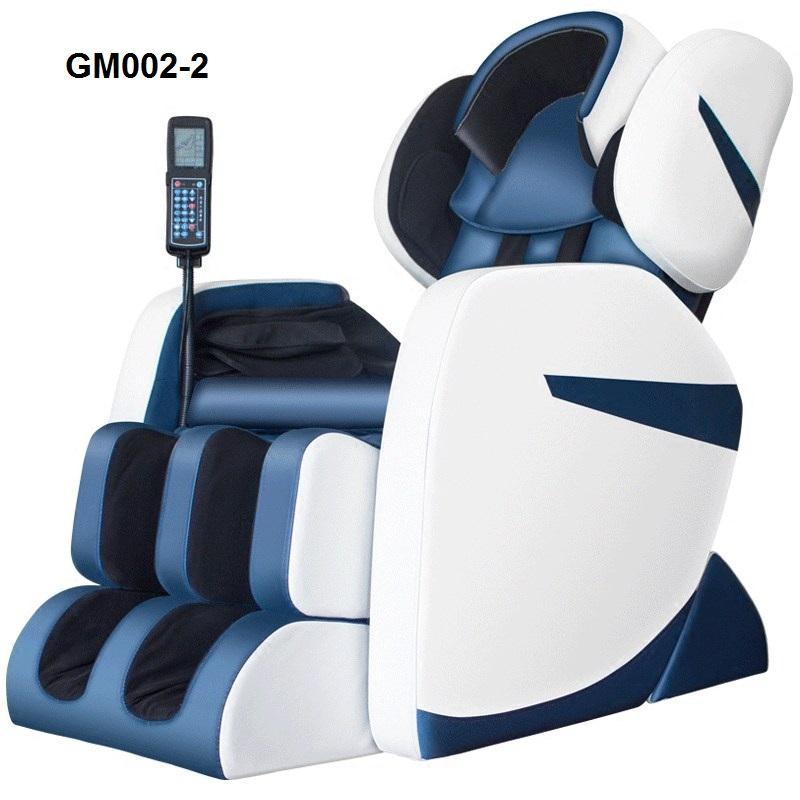 Ghế massage body toàn thân công nghệ mới GM002-2 màu xanh