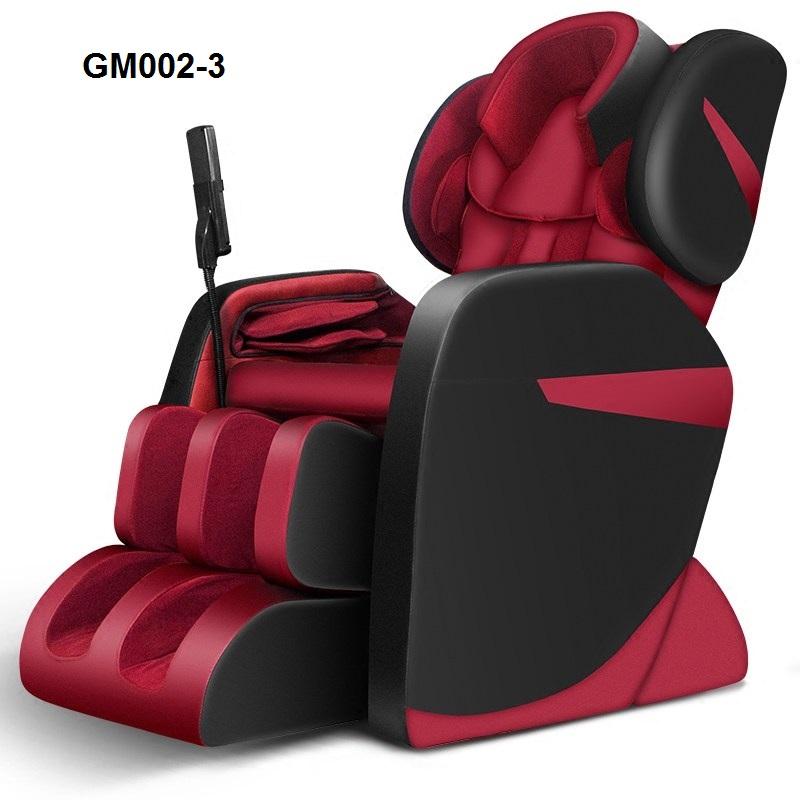 Ghế massage body toàn thân công nghệ mới GM002-3 màu đỏ
