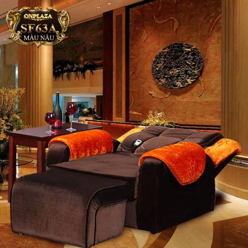 Ghế sofa massage thư giãn trị liệu SF63 (Màu nâu)