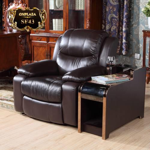 Ghế sofa massage trị liệu đa năng kèm tủ bên cao cấp SF43
