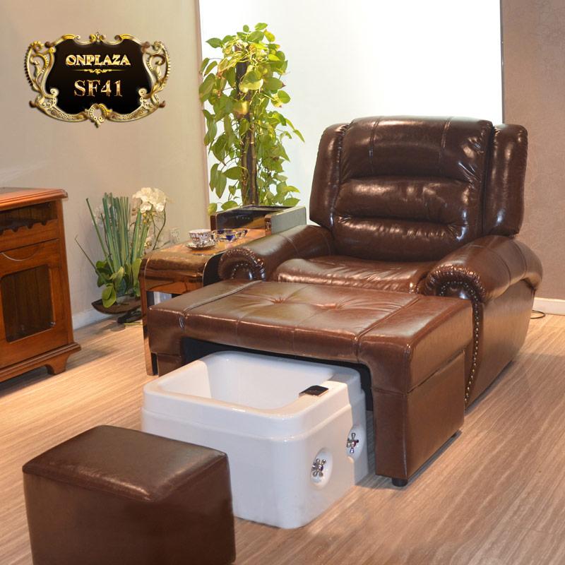 Ghế làm nail, mẫu ghế sofa làm móng đẹp bọc da giá rẻ tại hà nội