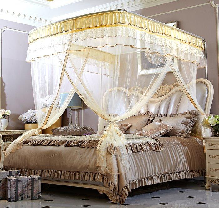 Kiểu giường ngủ + màn bung công chúa