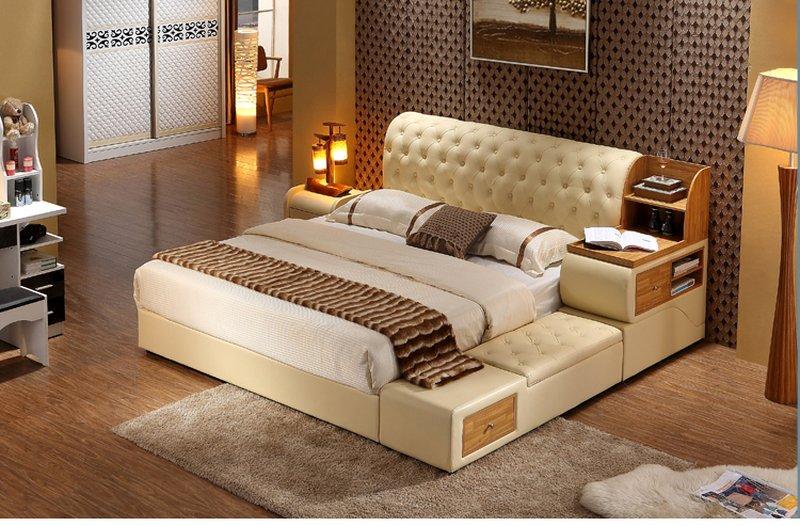 Giường ngủ đa năng tiện ích có ngăn kéo hiện đại G07