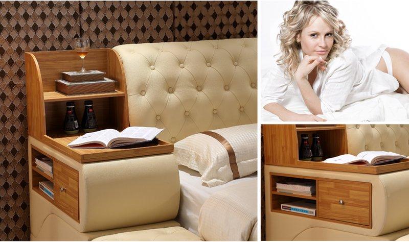 Thiết kế đầu giường G78 sáng tạo tiện ích