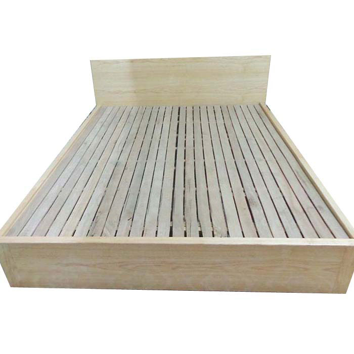 Giường gỗ công nghiệp dát thường có giá 1,9 triệu đồng
