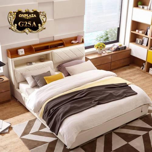 Giường ngủ cao cấp phong cách châu âu hiện đại G25