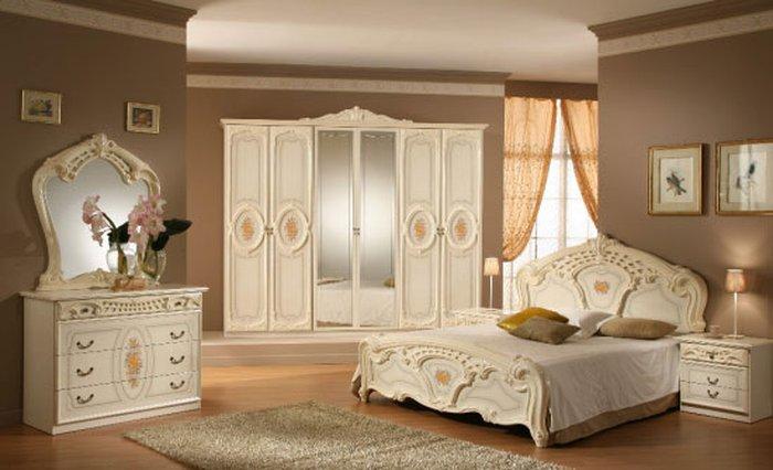 Trang trí phòng gủ vói gam nội thất màu trắng