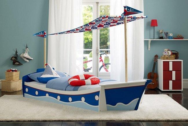 Tạo hình chiếc thuyền ngoài khơi