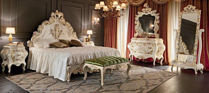 Giường ngủ cổ điển đẹp