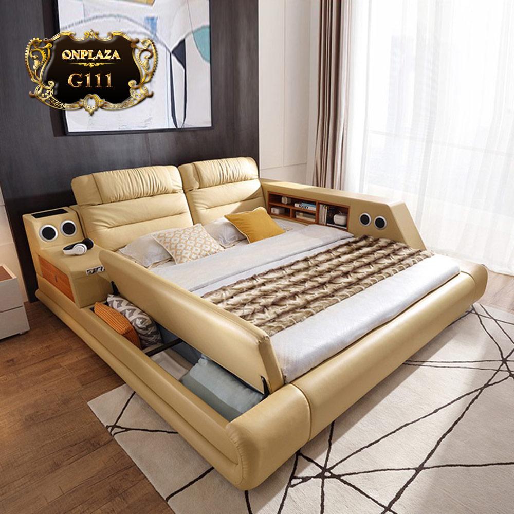 Giường ngủ đa năng giá rẻ hiện đại đa năng G111