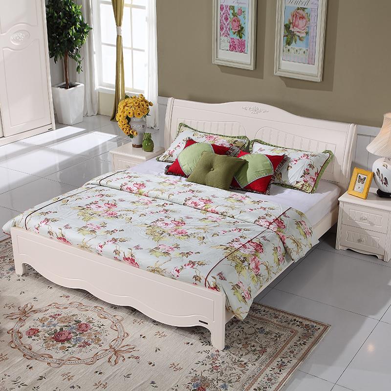 Giường ngủ gỗ tự nhiên sang trọng phòng ngủ