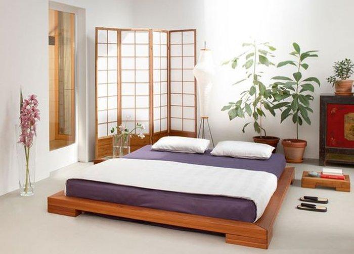 Giường ngủ kiểu nhật bản tạo không gian thoáng đãng