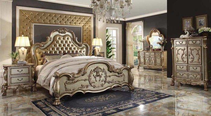 Giường ngủ tân cổ điển châu âu sang trọng