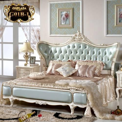 Tham khảo mẫu giường ngủ sang trọng bậc nhất cho không gian nhà bạn G01; Giá: 46.532.0310.000 VNĐ