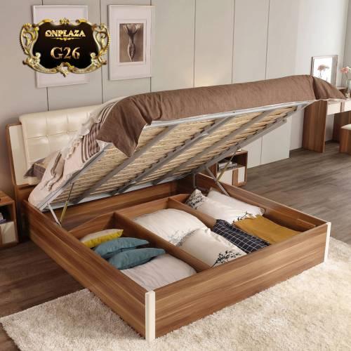 Giường ngủ gấp thông minh cho phòng ngủ nhỏ đẹp G26