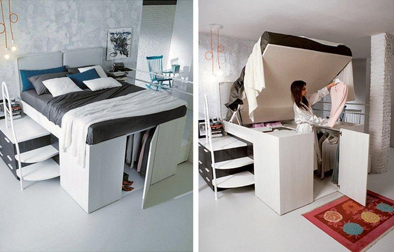 Các loại giường ngủ thông minh tiện ích nhất năm 2018