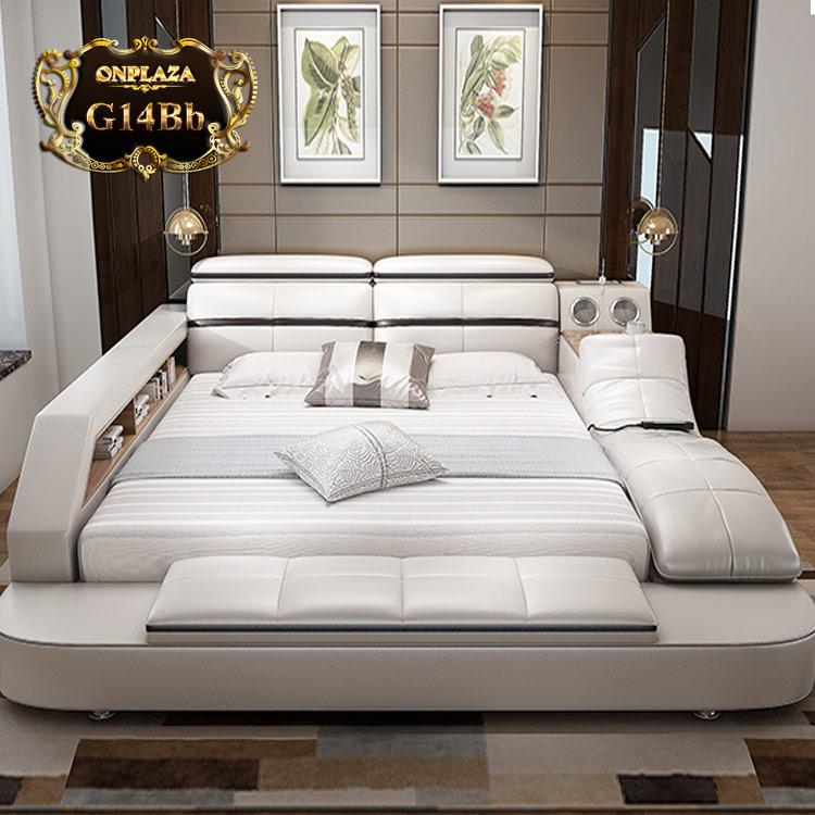Giường tatami nhật bản màu trắng